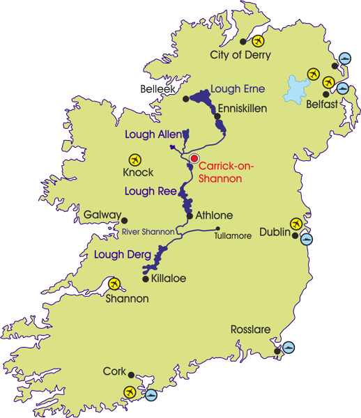Carrick-on-Shannon Map